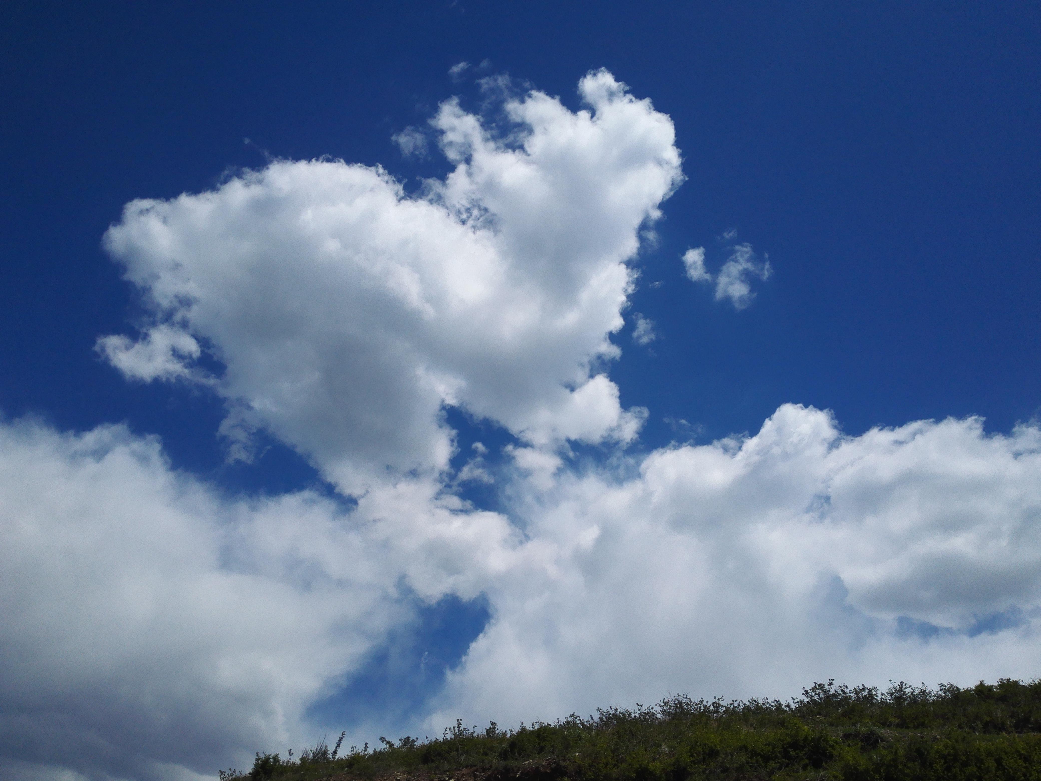 这白云挺好看的